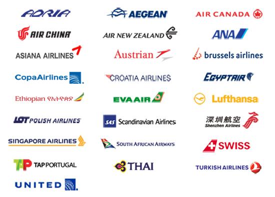 austrian airlines star alliance
